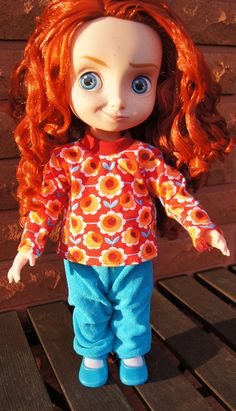 doll clothes for Merida
