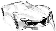 Grigory Butin concept car design sketch, automotive, industrial design sketch drawing