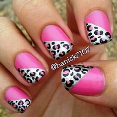 Pink + animal print