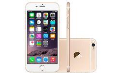 iPhone 6 16GB, 64GB ou 128GB Dourado