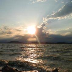 Badacsony after storm. #lake, #storm, #balaton, #badacsony