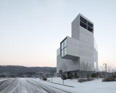 Concrete Church par NAMELESS Architecture