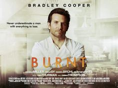 Burnt, a film starring Bradley Cooper, was a nice way to forget about the troubles of the world for a brief time. Bradley Cooper's character, Adam Jones, was the one with the troubles to overcome i… Hd Movies, Movies Online, Burn Film, Latina, Rhys Cooper, Matthews Rhys, Star Magazine, Emma Thompson, Film Review