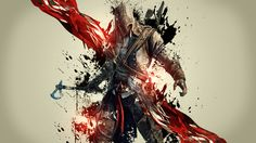 Videojuego Assassin's Creed III  Connor Guerrero Juego Fondo de Pantalla