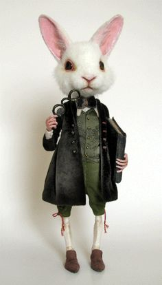 Rabbit gentleman