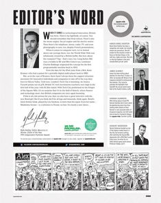 letter from Square Mile - 106 - The Technology Issue Editorial Design Magazine, Magazine Design Inspiration, Editorial Layout, Magazine Page Layouts, Magazine Layout Design, Newspaper Layout, Newspaper Design, Typography Layout, Lettering