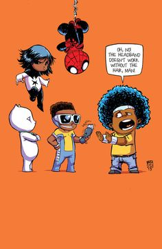 Mighty Avengers variant - Skottie Young