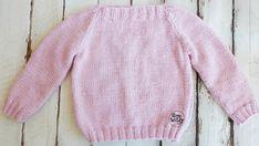 Suéter Básico Raglán (niños de 2-4 años) dos agujas | Soy Woolly