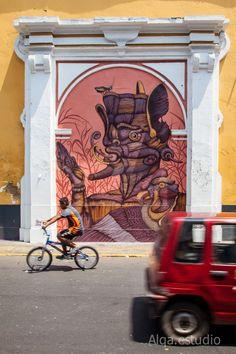 South America's wave of #streetart festivals: Latido Americano (Peru)
