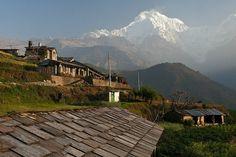 Annapurna South from Ghandruk