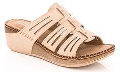 Lady Godiva Women's Comfort Wedge Sandals (Sizes 8 & 9)