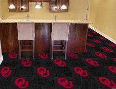 University of Oklahoma Carpet Tiles