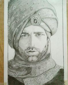 #portrait s#ketch #pencil #drawing #art #artsy #royal #classical order via DM .. Price : $3000 #Art4LoveAndPeace #WishaArtGallery