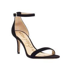 f503bdbb55df6 Women s Sam Edelman Patti Ankle Strap Sandal ( 100) ❤ liked on Polyvore  featuring shoes · Black High Heel ...