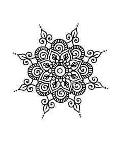Mandala daire Best Picture For Mandala Drawing bohemian For Your Taste You are looking for something Mandalas Drawing, Mandala Coloring Pages, Flower Henna, Flower Mandala, Mandala Design, Pattern Wall, Tattoos Mandala, Simple Mandala Tattoo, Tattoo Prices