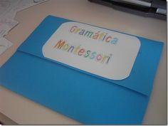 Un cuaderno interactive para trabajar la gramática, utilizando los símbolos Montessori