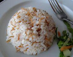 I love Egyptian rice...