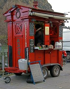 Edinburgh police box becomes a coffee kiosk