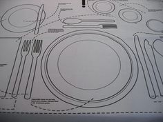Dining Etiquette to the Next Level: Kniggerich Placemats 3 - https://www.facebook.com/different.solutions.page