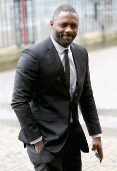 Idris Elba - this man can really wear a suit.