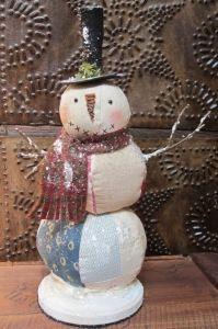 Quilt Snowman
