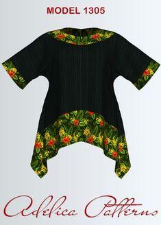 Tunic Sewing Pattern PDF, sizes 12-22 | Craftsy