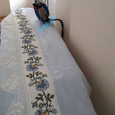 Pike Örnekleri ve Dantel Pike Modelleri 47 Soft Furnishings, Cross Stitch Patterns, Projects To Try, Embroidery Designs, Bed Sheets, Quilts, Blanket, Sewing, Crochet
