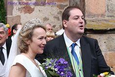 Prince Hubertus zu Löwenstein-Wertheim-Rosenberg married Baroness Iris von Dörnberg at the Walpurgis Church in Alsfeld, Germany on 18 Sep 2010