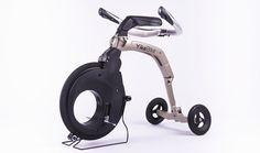fully electric folding yikebike model V & C achieves urban freedom