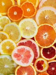 #food photography, fruit slices.