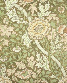 'Norwich' wallpaper by John Henry Dearle, 1889.