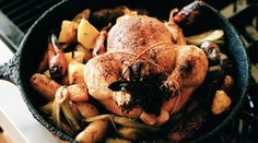 Perfect Roast Chicken | Recipes - PureWow Interesting take on roast chicken prepared in a cast iron skillet. Worth a try.