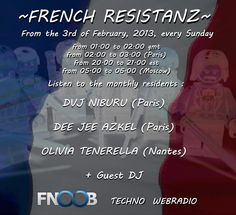 mix.dj - FRENCH RESISTANZ 7 - FNOOB RADIO - Planet X 03/08/13 by Dvj Niburu in Tekno Party - mix.dj The Social DJ Radio is the World's #1 DJ's and DJ Mix community on Pc's, smartphones & mobile devices.
