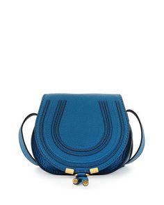 Marcie Small Crossbody Bag, Cobalt by Chloe at Bergdorf Goodman.