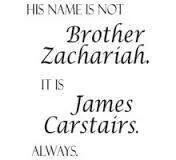 Always. I couldn't read it without saying Jem not Brother Zachariah