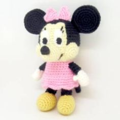 Projects Disney Free Pattern Friday: Minnie Mouse Amigurumi – i crochet things free pattern disney mickey mouse Free Pattern Friday: Minnie Mouse Amigurumi Crochet Disney, Crochet Mickey Mouse, Minnie Mouse Doll, Crochet Amigurumi Free Patterns, Crochet Toys, Crochet Things, Stuffed Animal Patterns, Cute Crochet, Kids Crochet