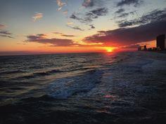 Panama City Beach sunset... From @breannaculwell
