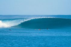 Mentawai in West Sumatra has 4 big islands and dozen small islands. Known as paradise for surfer lovers.