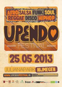 25 mei @ Upendo Festival te Nijmegen! Nieuw festival, waar jouw vertier ook nog eens rechtstreeks bijdraagt aan een goed doel: betere levens voor straatkinderen in Peru! Meer info: http://www.upendofestival.nl