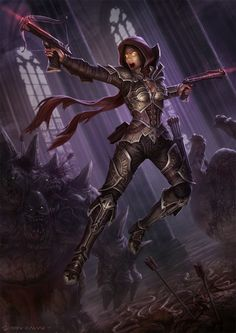 Diablo 3 - Demon Hunter by *DeivCalviz on deviantART