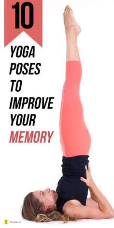 Yoga Poses To Improve Your Memory Want to increase your memory power? Here's how to do that with simple and easy-to-do for memory power.Want to increase your memory power? Here's how to do that with simple and easy-to-do for memory power. Sup Yoga, Bikram Yoga, Vinyasa Yoga, Iyengar Yoga, Yoga Fitness, Fitness Tips, Health Fitness, Wellness Fitness, Fitness Products