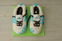 Tarta botas de futbol