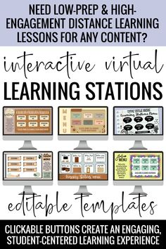 Interactive Learning, Learning Resources, Teacher Resources, Learning Stations, Online Classroom, Teaching Technology, Blended Learning, Learning French, Teaching Tips