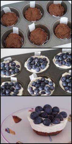 Ideas Cupcakes Blueberry Easy For 2019 Baking Recipes, Cake Recipes, Dessert Recipes, Baking Cupcakes, Cupcake Cakes, Sweet Desserts, Sweet Recipes, Sweets Cake, Cheesecake