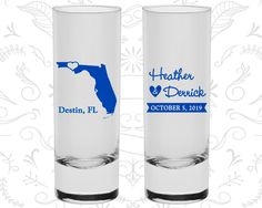 Florida Shooters, Florida Wedding, Wedding Shooters, Destination Shooters, State Shooters, Tall Shot Glasses (108)