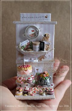 2016, Miniature food ♡ ♡ By Valentina Manzo