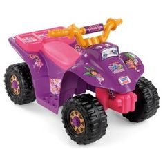 Dora the Explorer Power Wheels Lil' Quad