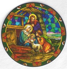 NATIVITY SCENE colorful vinyl Catholic Window Decal like stained glass reusable FOR SALE • EUR 6,39 • See Photos! Money Back Guarantee. Vinyl Cling Decal for your Auto or Home Description Perfect accessory for your home or car. Dress up a lonely window in your home! These are such beautiful window clings- 262907809984