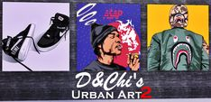 D&Chi — D&Chi's Urban Art PART 2 Yes, you read it right...