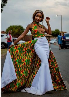 Prom Gown with cape African Wedding dressDashiki Dress African womens dress handmade dashiki dress African women clothing African Prom Dresses, African Wedding Dress, Latest African Fashion Dresses, African Dresses For Women, African Attire, African Wear, Women's Dresses, African Women, African Weddings
